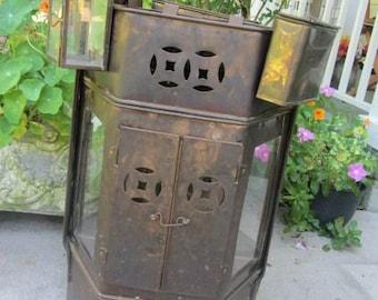 Brass Street Vendor Cart