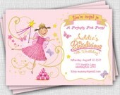 Pinkalicious - Invitation - Printable