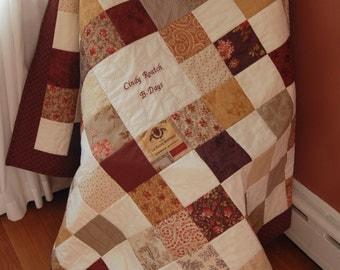 Signature quilt | Etsy : wedding signature quilt - Adamdwight.com