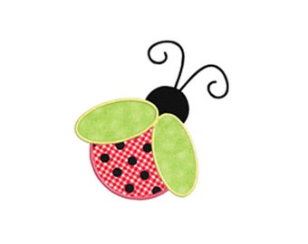 Ladybug APPLIQUE Machine Embroidery Designs