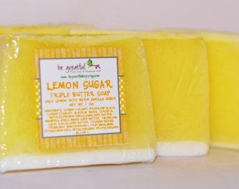Lemon Sugar Glycerin Soap