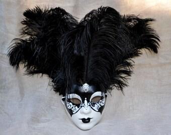 17. Venetian Mask Feather