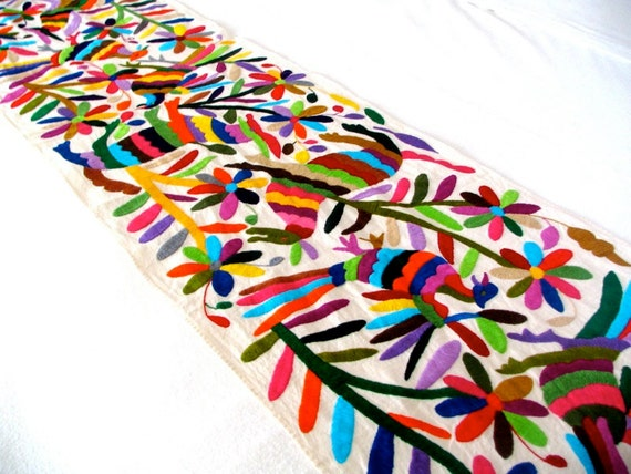 etsy  Design Table Otomi Runner table runner