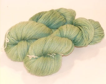 Laceweight BFL Blue Faced Leicester - Serenity