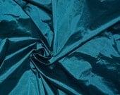Silk taffeta in Cerulean  Blue - Fat quarter -TF 74