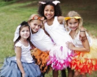 Atutudes Eeyore Inspired Tutu created for a Many Adventures of Winnie The Pooh Party