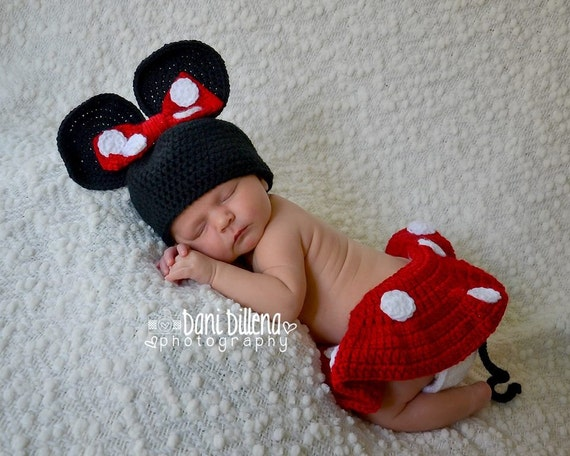Minnie Mouse Set for Baby
