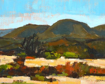 Mountains in Temecula - San Diego Landscape Painting
