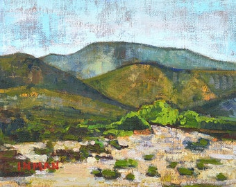 Temecula Mountains- Scenic Landscape Painting