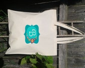 Bridesmaid Gift Bags - Welcome Bags for Wedding  - Customize names-Floral