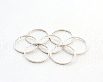 7 STERLING SILVER Rings - Size 6