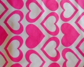 Valentine, headband, PINK hEARTS Lycra