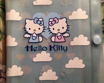 Vintage 90s Sanrio Hello Kitty angel cloud photo album