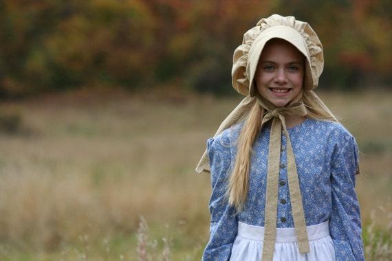 ingalls costume taille de la prairie costume