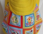 MEI TAI Baby Carrier / Sling  / Reversible / Spring Gallery with Yellow in  straight cut model