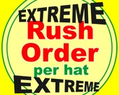 RUSH ORDER for your Santa Hats!  Add On!