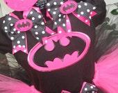 Batgirl Tutu Set