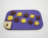 Miniature biscuit n.1 silicone mold