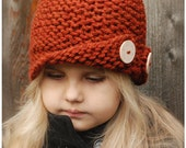 Rockford Cloche' - KNITTING PATTERN (Toddler, Child, Adult sizes)