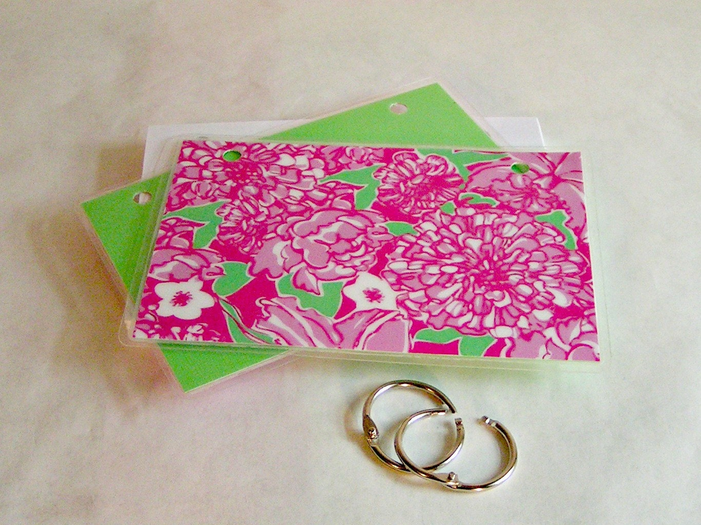 index card binder 3 x 5 or 4 x 6 index card holder by