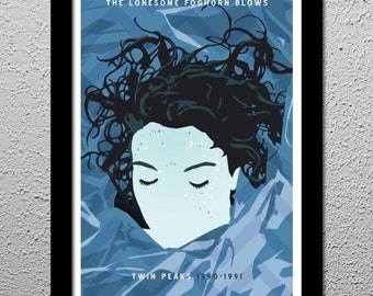 Twin Peaks Laura Palmer David Lynch - 13x19