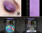 Pigment  Eye Shadow - Pink-Violet Eyeshadow -Scaredy Cat - POYSENBERRY PIE - 5 mL Sifter