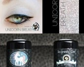 Mineral Eye Shadow - White - Sheer - Vegan - Scaredy Cat  - UNICORN BREATH - 5 mL Sifter
