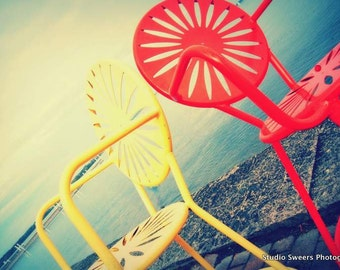 Terrace Twins // 8x10 Madison Wisconsin Photography // Colorful Home Decor