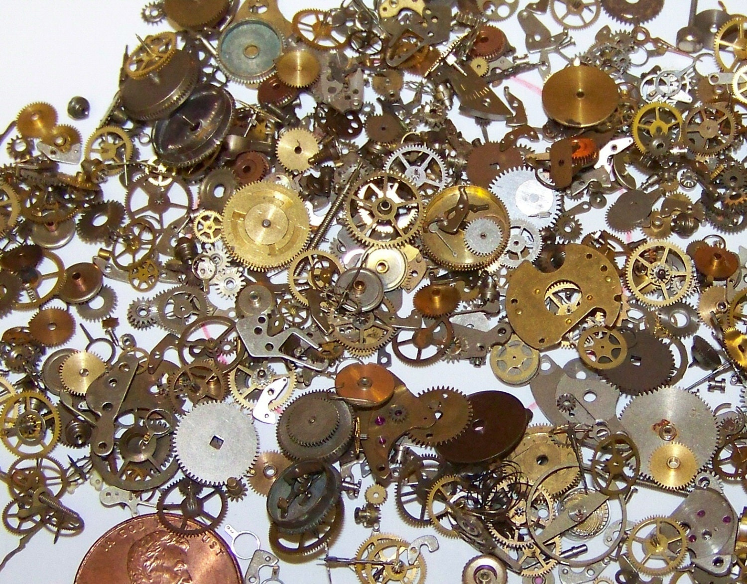50 Off Sale 15 Grams Old Watch Parts Pieces Mix Lot