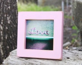"4x4 Gallery 1"" picture frame -  Petal Pink"