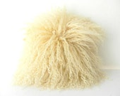 SALE Mongolian Fur Cushion - RetroAndCo