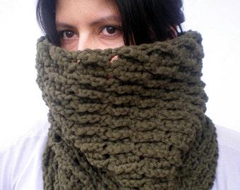 DyagonValley  Cowl Super Soft mixed Cashmere  Wool Neckwarmer Woman Original Chunky Cowl NEW