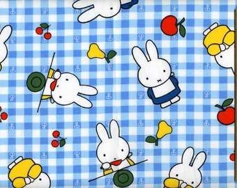 Miffy fabric Blue color one yard