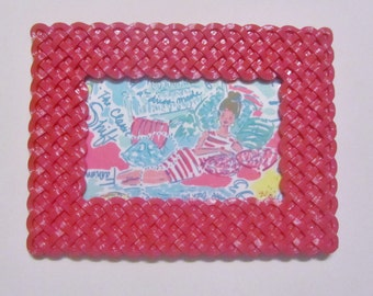 Framed fabric In the Beginning Lilly Pulitzer