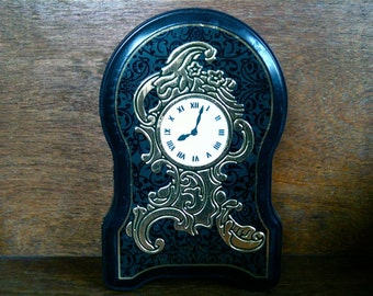 Vintage English After Eight Clock Tin Box circa 1980's / English Shop