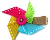 Pinwheel Hair Clip