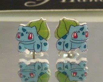 Bulbasaur Stud Earrings
