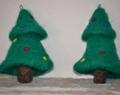 Felted Christmas Tree Ornament - TwiceNicePurses