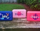 Personalized Pencil Case, Pencil Box, School Supplies- Great Party Favor