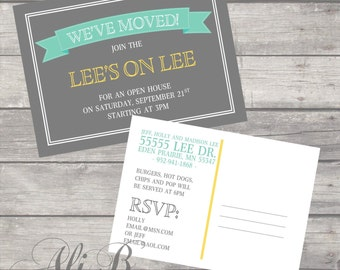 We've Moved Post Card Printable