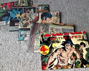 Comic Book Envelopes / Geek, Wedding or Birthday Invitations, Stationery - Custom Set of 5