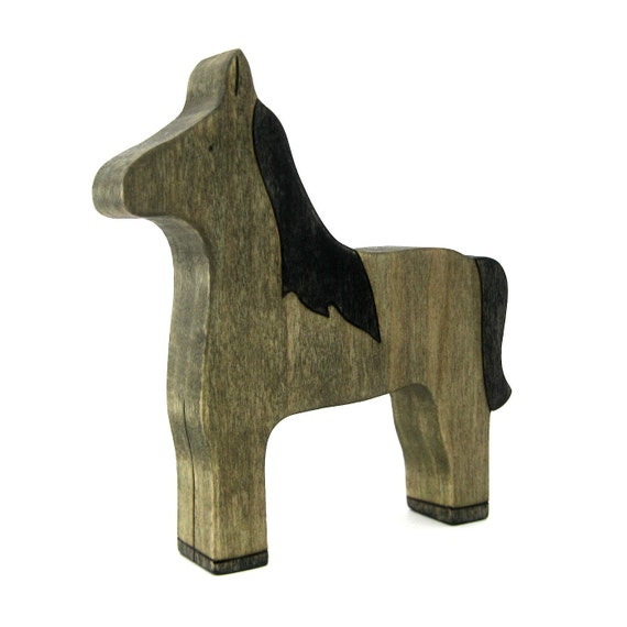 Horse Toy - Wooden Toy - Waldorf Toy - Handmade Toy