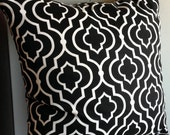 "20"" Dalgety Panorama in Black- Pillow Cover"