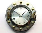 Landex Royal Craft Port Hole Clock - Vintage Port Hole Clock