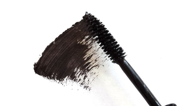 Travel Size Vegan Black Handmade Mascara, On the Go Purse Size, Natural, Paraben-free, Cruelty-Free, No Animal By-Product- BLK02HVC