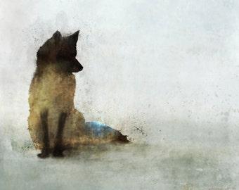 Fox Hunt 03: Giclee Fine Art Print 13X19