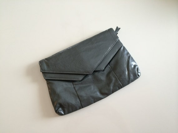 1980s SPACE AGE geometric HIPSTER clutch