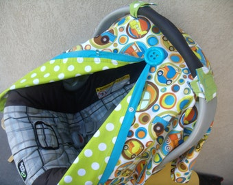 Car seat Cover Carseat Cover Trucks and Cars REVERSIBLE