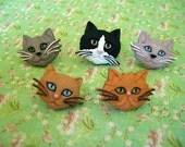 Cat Thumbtack, Cats Push Pin, Animal Notice Board Pins