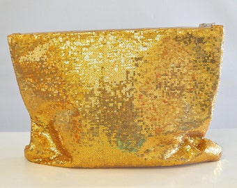 Extra Large Sparkle & Shine Sequin Clutch or Laptop Case